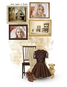 """""""Goldilocks"""" by siriuslyoddsome ❤ liked on Polyvore featuring art"""
