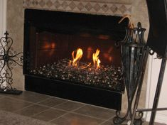 Tips Choosing Fireplace Glass Rocks — Aidnature Fireplace Glass Rocks, Tiled Fireplace Wall, Open Fireplace, Fireplace Ideas, Window Cleaner, Glass Ceramic, Ceramics, Crystals, Fire Pits