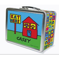 personalized todd parr lunchbox for preschool