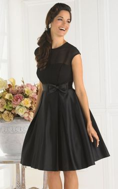 Cap Sleeve Short Pretty Maids Bridesmaid Dress 22342 by House of Wu at frenchnovelty.com