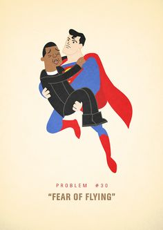 """Fans of rapper Jay-Z's music will get a kick out of this illustrated series, 99 Problems, by artist Ali Graham, who claims that """"even world famous rappers Z Music, Because The Internet, Funny Illustration, Illustrations, Fear Of Flying, 99 Problems, Jay Z, Really Funny, Travel Posters"""