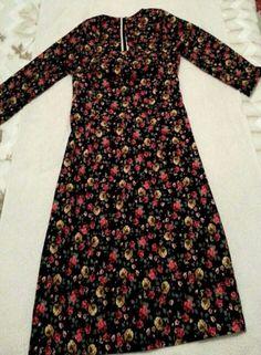 Pazen elbise Winter Love, Advanced Style, Boho Gypsy, Victorian Fashion, My Wardrobe, Frocks, Sewing Patterns, Long Sleeve, Fabric