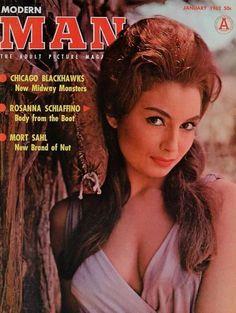 Rosanna Schiaffino - Modern Man Magazine Cover [United States] (January 1962)