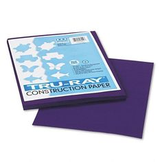 Pacon  TruRay Construction Paper Sulphite 9 x 12 Purple 50 Sheets  Sold as 2 Packs of  50    Total of 100 Each ** You can get more details by clicking on the image.-It is an affiliate link to Amazon.