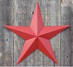Heavy Duty Metal Star 72 Painted Solid Radiant Red These Metal Stars Are a Great Addition to Your Home Decor You Will Not Be Disappointed with the Quality and Workmanship on These Barn Stars They Are Handcrafted Out of 22 Gauge Galvanized Steel and Will Not Rust Add a Barnstar to Your Home Decor Today Assembly Required Due to high demand these are a little bit back ordered but might ship before designated ship date ** To view further for this item, visit the image link.