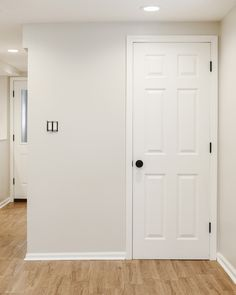 Yellow Brick Home - HGTV HOME by Sherwin-Williams Basalt Powder paint color.  Possibly lightened 50%