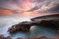 Olhares.com Fotografia | �Paulo Nogueira | Uma ponte no Atlntico.  Cabo Raso - Guincho - Cascais - Portugal (16MAR2013)