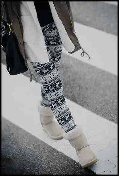 Winter Fashion Leggings