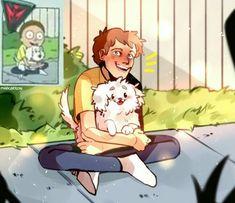 Cute Cartoon Boy, Cartoon As Anime, Rick And Morty, Male Cartoon Characters, Ricky Dicky, Good Cartoons, Rick Y, Different Art Styles, Jojo Bizzare Adventure