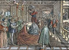 Photo of Execution of Mary Stuart for fans of Tudor History. James V Of Scotland, Mary Queen Of Scotland, Mary Queen Of Scots, England And Scotland, Uk History, Tudor History, History Photos, British History, Mary Stuart