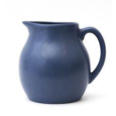 Cornflower Blue Lusogres Pitcher #huntersalley #rootedinstyle #stoneware #vintage