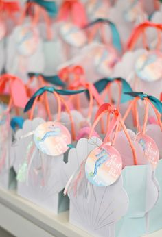 Project Nursery - Seashell goody bags with custom thank you tags by Entertaining with Emily! Birthday Party Invitations, Party Favors, Birthday Parties, Birthday Bash, Kylie Birthday, Birthday Ideas, Baby Birthday, Madonna Birthday, Party Bags