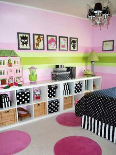 Cute storage space for toys