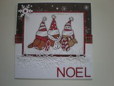 Stampendous stamp, great for colouring in. (Craftyhearts)
