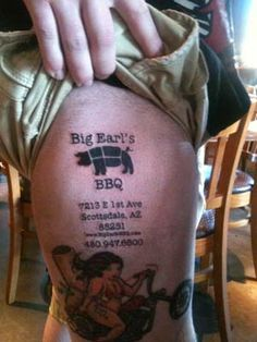 Big Earls has a BBQ fan - it's real!