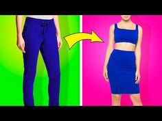 38 Genius Clothing Hacks For Every Girl - YouTube