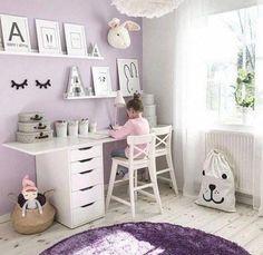 Girls Room Design, Kids Bedroom Designs, Purple Bedrooms, Girls Bedroom, Girls Room Purple, Room Girls, Purple Toddler Rooms, Kids Bedroom Ideas For Girls, Girl Room Decor