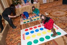 In Chicago, the Joffrey Ballet's annual Nutcracker Family Dinner in Chicago offers activities for children and adults alike. At the 2011 event, young guests played Twister on the ballroom floor at the Palmer House Hilton. Party Activities, Activities For Kids, Joffrey Ballet, Birthday Photo Booths, Tiny Dancer, Party Themes, Party Ideas, Business For Kids, 21st Birthday