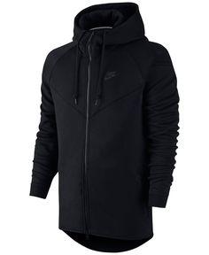 Nike Windrunner Fleece Performance Full-Zip Hoodie - Hoodies & Sweatshirts  - Men - Macy's