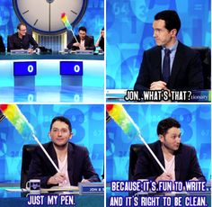 "When Jon was peak Jon. | 34 Times ""8 Out Of 10 Cats Does Countdown"" Was Almost Too Funny"