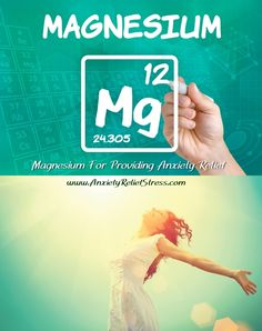 Magnesium For Anxiety Relief - One of my natural tips! #anxiety