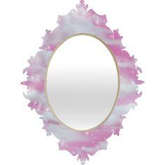 Lisa Argyropoulos Dream Big In Pink Baroque Mirror | DENY Designs Home Accessories