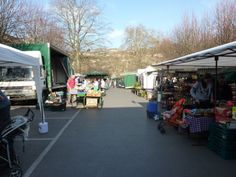 Bradford on Avon market glowing in the sunshine