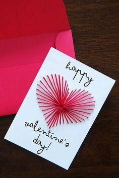 Homemade Birthday Cards For Boyfriend Ideas Diy Simple Birthday Card Ideas For Best Friend Boyfriend Simple. Homemade Birthday Cards For Boyfriend Ide. Valentines Bricolage, Diy Valentines Cards, Valentines Day Decorations, Valentine Day Crafts, Valentine Ideas, Homemade Valentine Cards, Happy Valentines Day Card, Printable Valentine, Valentines Greetings