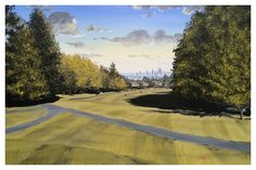 """Acres Glen"" (24"" by 36"" acrylic on canvas)"