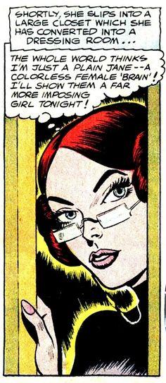 Plain Jane - a colorless female brain?