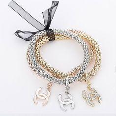 CC Creation - 3Tone Linkage Bracelet