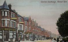 Old Postcard....Kensal Rise - Postmarked 12 September 1910