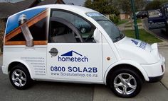 Our promo vehicle, isn't she a beauty?!