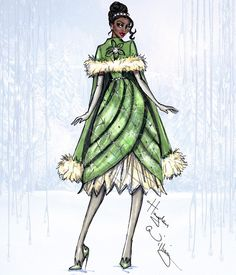 Disney Divas 'Holiday' collection by Hayden Williams: Tiana| Be Inspirational❥|Mz. Manerz: Being well dressed is a beautiful form of confidence, happiness & politeness