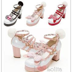 Buy directly from the world's most awesome indie brands. Or open a free online store. Black Heels, High Heels, Shoes Heels, Kawaii Shoes, Mary Jane Pumps, Lolita Fashion, Victorian Fashion, Heeled Boots, Footwear