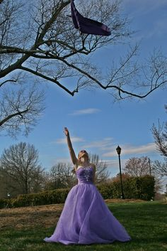 Colorguard. Dress. Tossing. Prom!