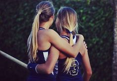 Amanda and Emily Gale - Pole Vaulting twins.  Both sister suffer from a disease called Common Variable Immune Deficiency, yet excel.