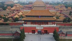 A portion of the Forbidden City, Beijing
