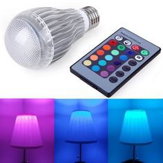 These color changing light bulbs make a great gift for tweens and teens. 16 different color changing options! CLICK HERE TO SEE!