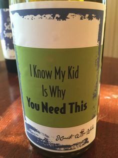 Funny Wine Labels fo