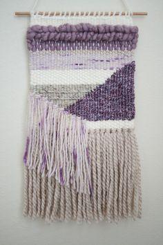 Handmade Woven Wall Hanging Weaving Woven Wall by krystleweaves