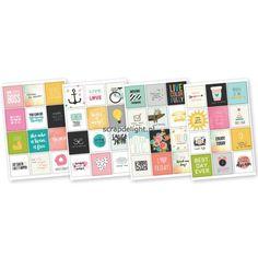 Simple Stories | Simple Stories Carpe Diem: Insta Quote stickers | Scrapdelight Scrapbookwinkel
