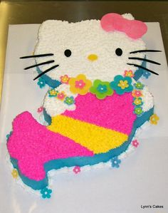 hello kitty mermaid cake - Google Search