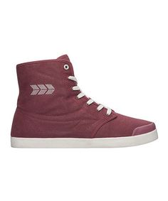 Another great find on #zulily! Wine Marcos Hi-Top Sneaker #zulilyfinds