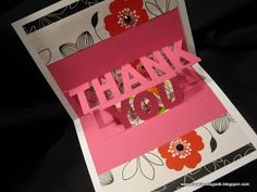 Creations by Patti: Thank You Card