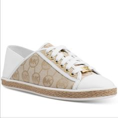 589f4be52e605 Michael Kors Kristy Slide Lace-Up Sneakers Shoes - Sneakers - Macy s