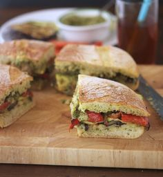 Grilled Ratatouille Muffuletta - A hearty, vegan take on the beloved New Orleans-style sandwich that will win raves.