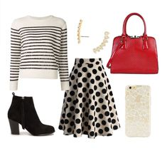5 Ways to Rock the Dots | Fashion | Disney Style... National Polka Dot day 22nd!!