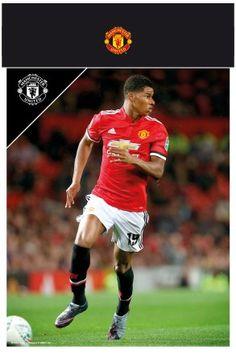 Manchester United Rashford 17/18 Bagged Photographic Print