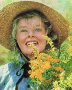 Katharine Hepburn in On Golden Pond by cooperscooperday, via Flickr